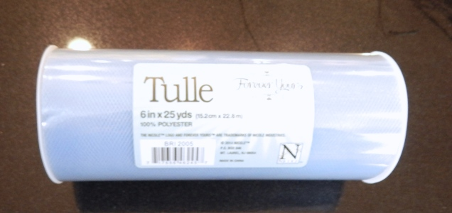 Tulle - light periwinkle
