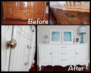 Buffet to Dresser