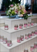 Display. We never got a photo of the display with all the candles :( I heard it looked really pretty though.