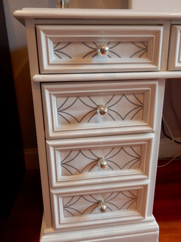 Drawers close up